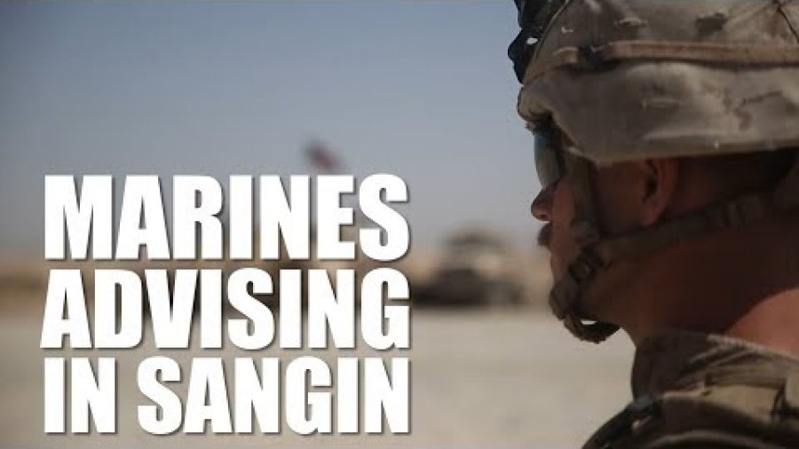 Marines Advising in Sangin