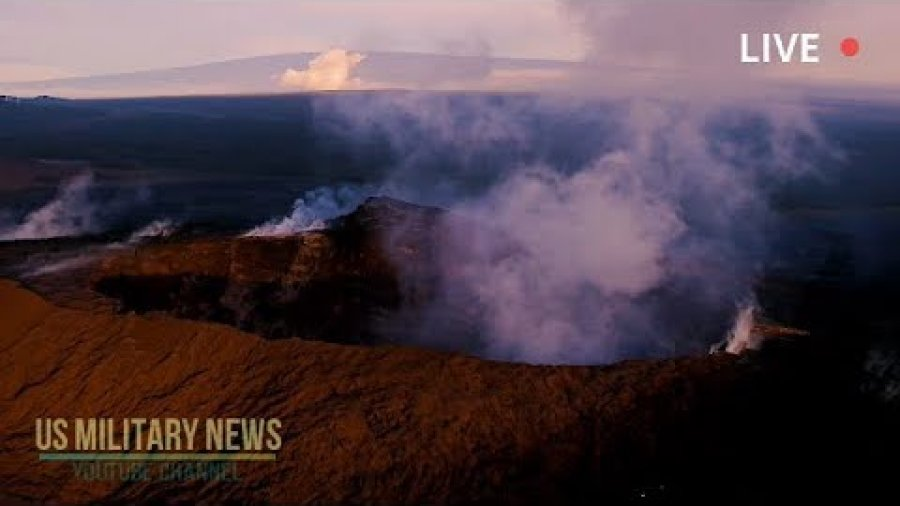 Here's New Stunning Aerial Footage of Hawaii Kilauea Volcano Who Stop Erupting
