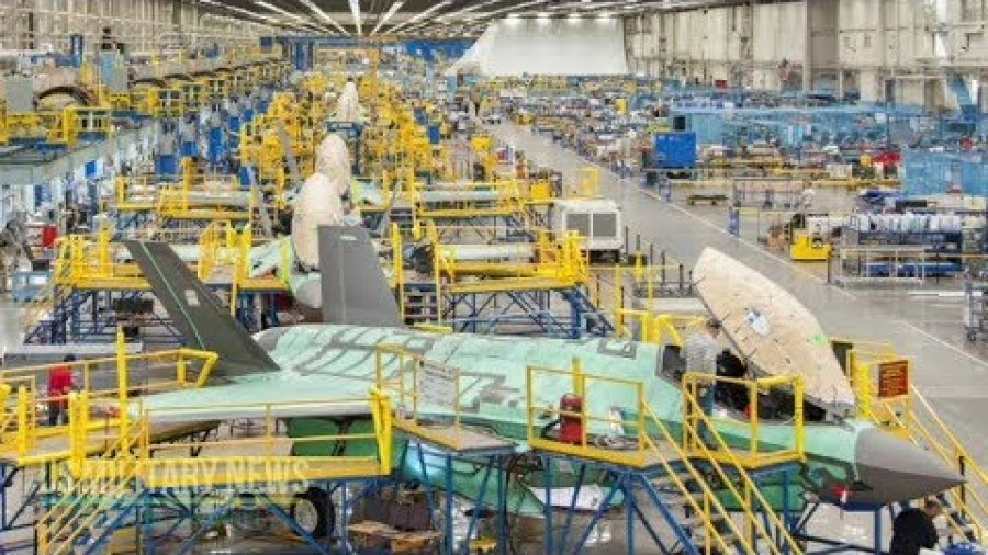 This Is The Story Of Vital Technologies Developments For The Production Of The F-35 Lightning II
