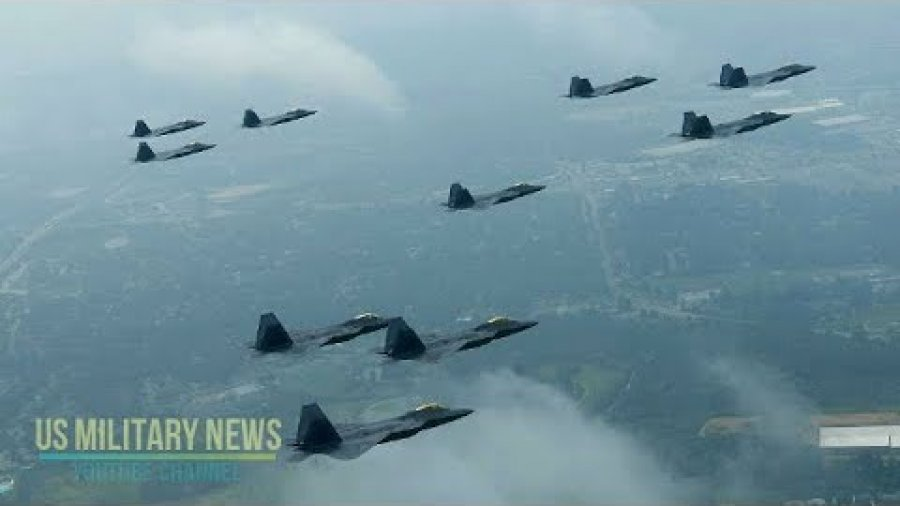 USAF Deployed Squadrons F-22 Raptors To Europe With One Goal in Mind To Deter Russia