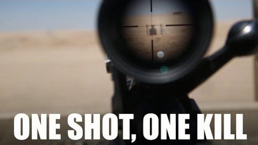 One Shot One Kill ANA Sniper Training