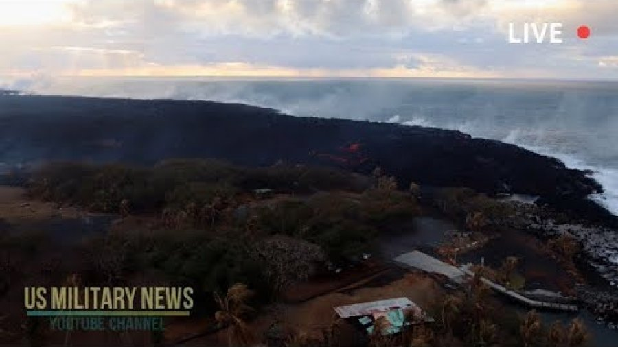 Lava Flow From Most Active Fissure on Hawaii's Kilauea Volcano Slows Dramatically
