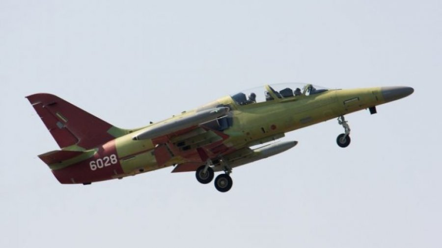 Czech Air Force's L-159T2 advanced jet trainer conducts maiden flight