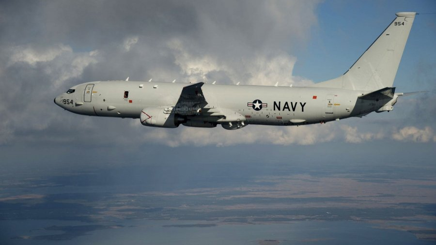 Navy Plane Gets Warning During Flight Over South China Sea