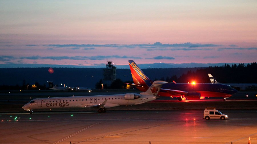 F-15s Scrambled After Sea-Tac Airline Worker Takes Plane; Spree Ends in Crash