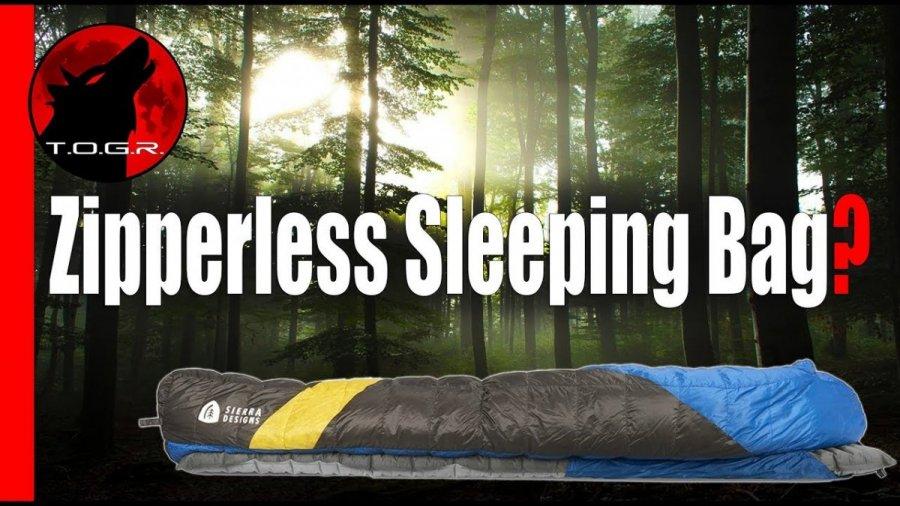Sierra Designs Cloud 35 Sleeping Bag Review – No Zippers!
