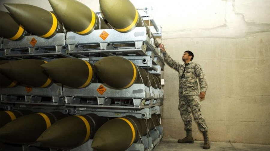 Air Force receives its largest ordnance shipment in Europe since Cold War