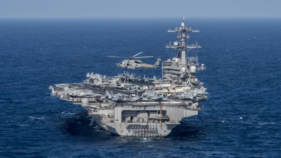 (VIDEO) ESPN hops aboard USS Carl Vinson aircraft carrier for a special Veterans Day feature