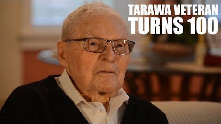 Tarawa Veteran Turns 100