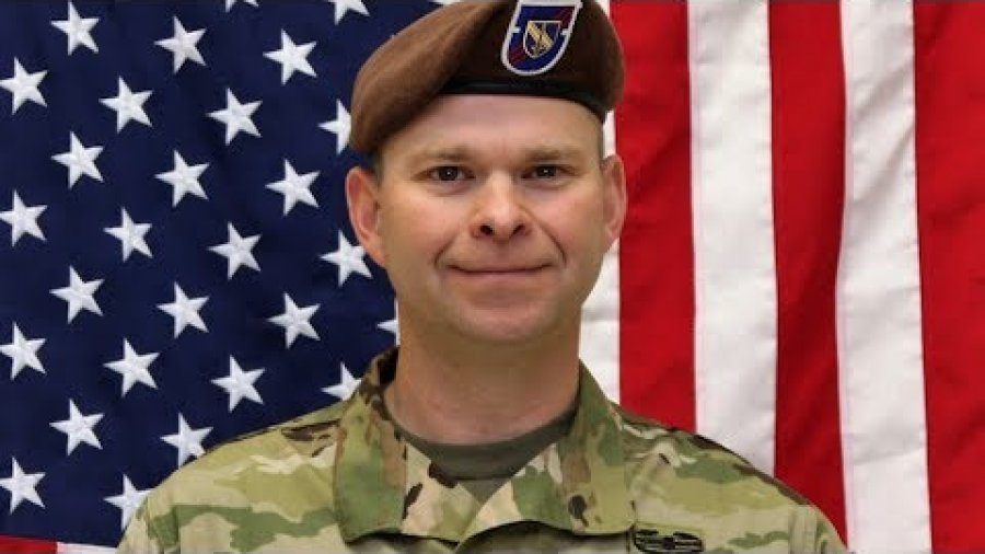 Honoring SFAB Command Sgt. Maj. Timothy Bolyard