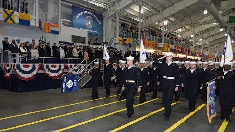 U.S. Navy Boot Camp Graduation: Nov. 16, 2018