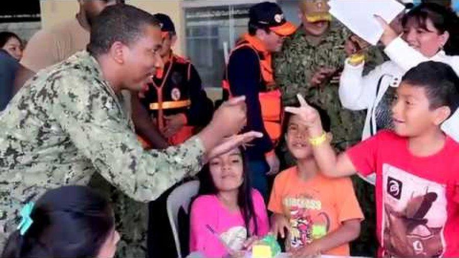 USNS Comfort Support in Peru