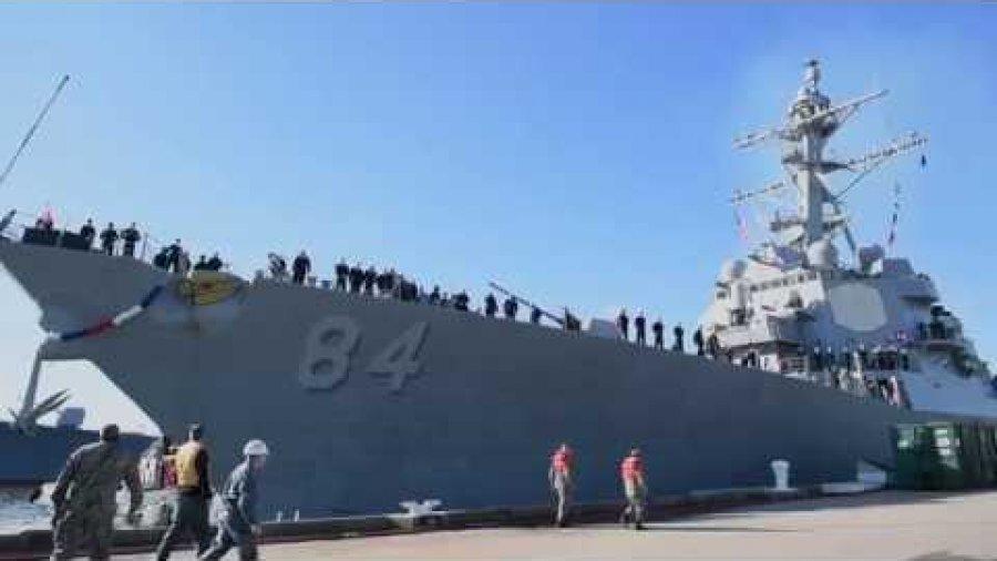 USS Bulkeley Returns to Homeport