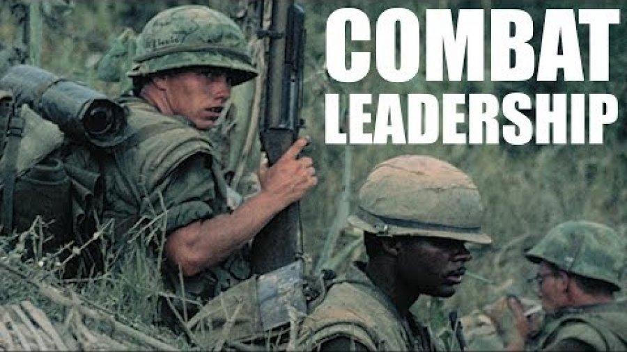 Medal of Honor recipient Maj. Gen. James E. Livingston motivates Marines