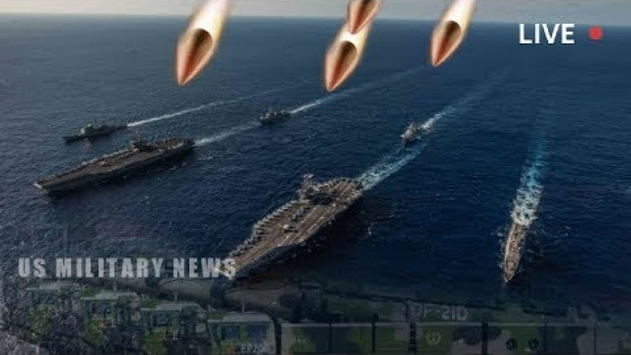 Alert: US Navy Flexes With 2 Carriers Near China as Warns That Beijing's Missiles Could Sink Them