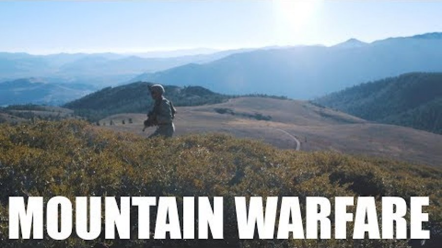Mountain Warfare Training