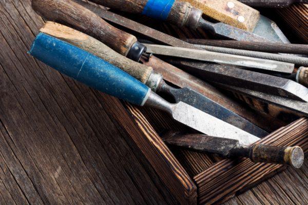 Carpentry hand tools set