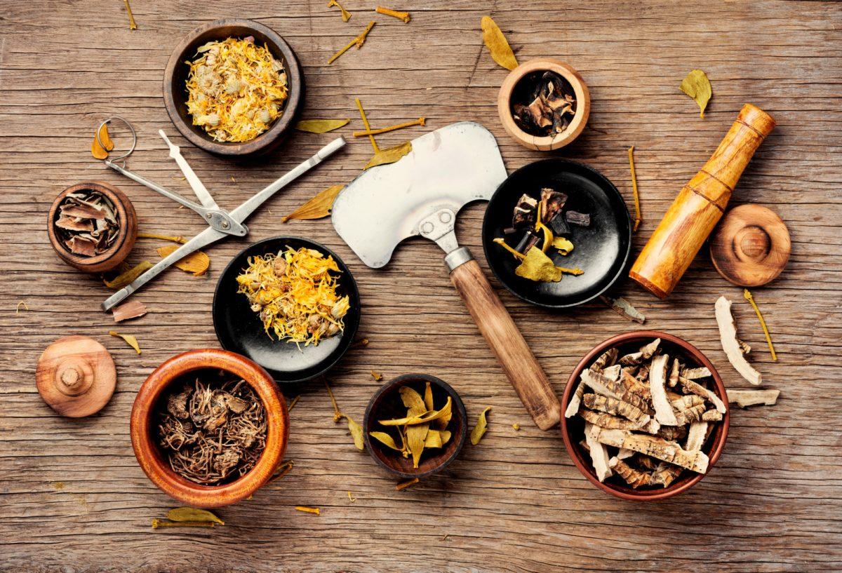 Medicinal, healing herbs